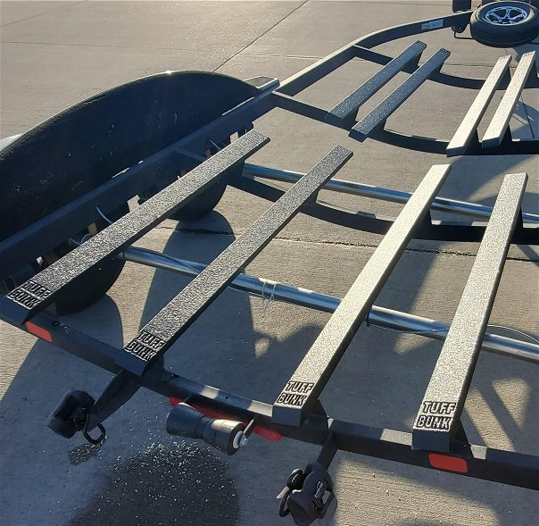 Make your Boat Trailer Bunks better than new - Tuff Bunk